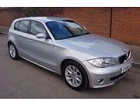 2006 56 BMW 120D SE AUTOMATIC 5 DOOR SILVET E87 118D