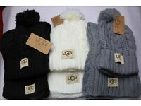 UGG hat and scarf set - brand new, 3 colours - not Gucci, Prada, LV, Klein, Kors