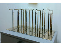 High Quality Gold Handbag Stand Display