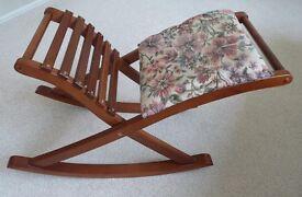 Armchair foot/leg rest.