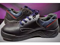 Mens Steel Toe Cap Work Boots Size 9 UK /39 EU SAFETY SHOE - By FOREVER