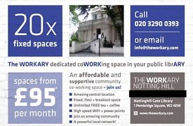 Amazing Co Work space in NOTTING HILL, W2 4EW - Desks from £95/month - FEW SPACES REMAINING