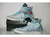 Mr Freeze genuine Converse. UK size 9 brand new with tags