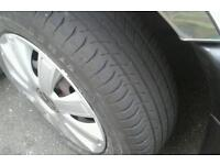 Vwt4 15inch steel wheels and trims