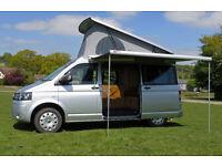 VW T5 Campervan - ROLLING HOMES COLUMBUS - Luxury 4 berth, oak cabinets, solar panel, diesel heating