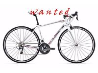 WANTED Cube Axial wls or Giant avail sl small size ,specialized dolce trek scott bike only ladies