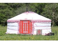 Part time cleaner for eco yurt camp