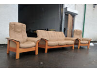Ekornes stressless buckingham recliner sofas DELIVERY AVAILABLE