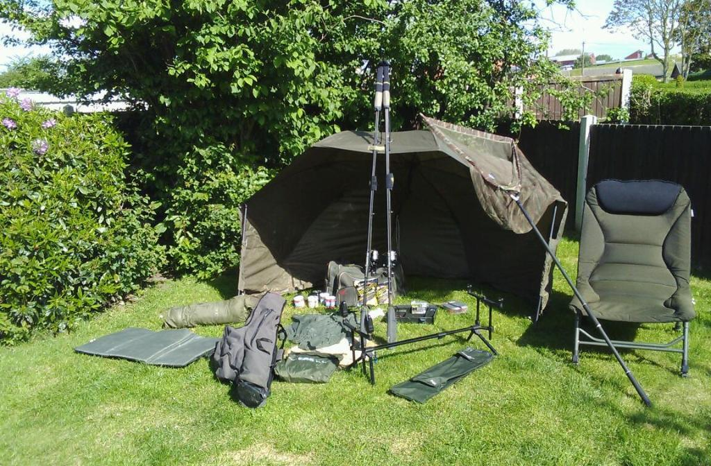Used fishing equipment for sale in nottingham for Fishing equipment for sale