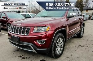 2016 Jeep Grand Cherokee LIMITED, 4X4, 18 WHEELS, BACKUP CAM, HT