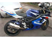 GSXR 600 K4 Blue - some mods and all original parts - very good condition