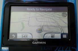 "4.3"" MINT! GARMIN nuvi 2445 GPS Sat Nav - UK & Ire.+ Spain & Port.+ France & BeNeLux + Scandinavia"