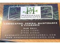 HANDMADE LANDSCAPES - Garden Maintenance & Landscaping