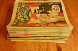 2000AD Collection, JobLot, X53 comics. 1986/87