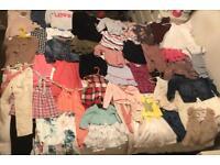 Children's cloths bundle sale of 44 items