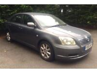 Toyota avensis with 10 months MOT