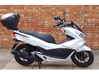 Honda PCX 125, ONLY 561 miles on the clock