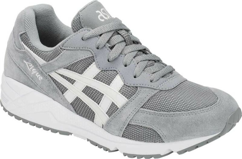 huella dactilar Profeta imán  ASICS Tiger GEL-Lique Sneaker (Men's Shoes) in Stone Grey/Birch - NEW | eBay