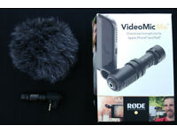 RODE VideoMic Me directional Microphone.