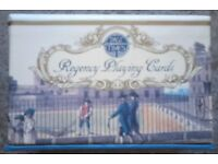 Twin Pack Of 'Past Times Regency' Playing Cards (sealed)