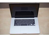 Apple MacBook Pro 15 inch QUADCORE i7 2.4 Ghz 8gb Ram 500 HD Logic Pro 9 &10 X, Adobe, Final Cut Pro