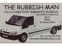 Removal services of waste and household waste