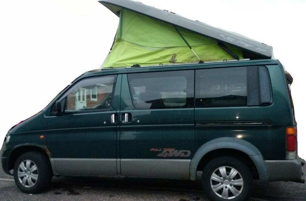 2 BONGOS FOR SALE Mazda Bongo Ford Freda Identical Camper Vans 95