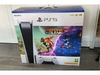 PS5 Disc Edition with Ratchet and Clank Rift Apart Bundle - £650 ONO