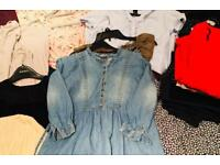Pregnancy and maternity clothes bundle sizes 12 to 14 (22 Items)