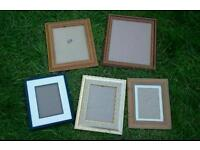 Joblot of as new picture frames