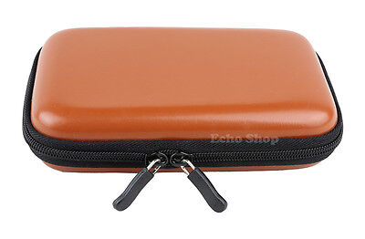 PU Leather EVA GPS Sat Nav Hard Case For GARMIN nuvi 42 465T 465TF