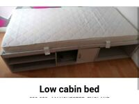 Low cabin bed