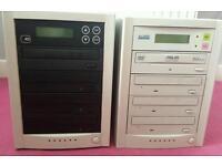 2x 1to3 DVD Duplicator multi burner