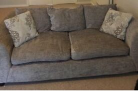 Two Seat Sofa - Grey