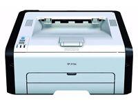 Brand New Ricoh SP 213w Wireless A4 Mono Laser Printer 22ppm (RRP 119.99!)