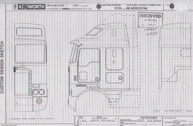 diagram, kenworth w900b wiring kenworth k100 g cab usb digital manual    truck parts   gumtree     on