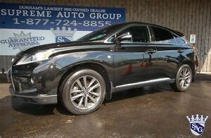 2013 Lexus RX 350 F Sport AWD GPS Leather! Sunroof! Navigation!