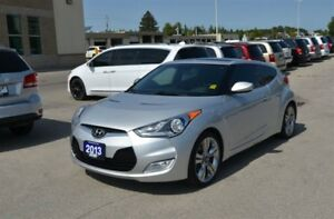 2013 Hyundai Veloster Leather, GPS, Sunroof, Back Up Cam