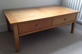 Wooden tv/media unit/coffee table £30