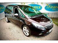 CAN'T GET CREDIT? CALL US! Vauxhall Zafira Tourer 1.4i Turbo SRi 7 Seats- £200 DEPOSIT, £65 PER WEEK