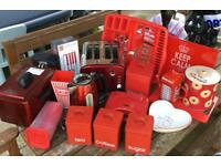 RED KITCHEN EQUIPMENT BUNDLE