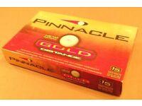 BOX OF NEW PINNACLE GOLF BALL - 15 BALLS IN TOTAL