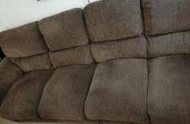 4 Seater Fabric Sofa, Splits In 2!, ASPEN Model RRP £800, *Collect in Hampshire*