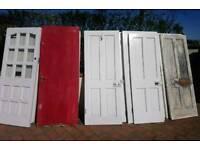 12 Cottage Doors - Vintage Restoration Glazed Internal External Fire Check