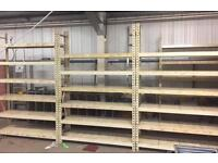 Speed/ click together heavy duty industrial shelving/ racking/ storage solution