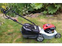 Masport 350ST 158cc self-propelled Petrol lawnmower, steel body, 10 cut height settings