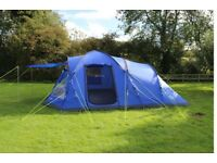 Eurohike Bowfell 6 man Tent and side porch