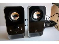 Logitech LS11 Computer Speakers