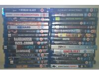 30 blu rays mostly new and sealed