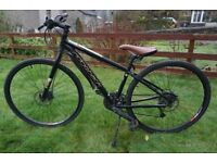 Ex hire Ridgeback Quest Dual Track Hybrid Mountain Bikes. Sizes XS, S, M left